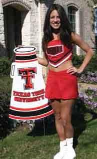Spirit Signs, Cheerleader Supplies, Booster Club, School Yard Signs,and Team Spirit Lawn Signs
