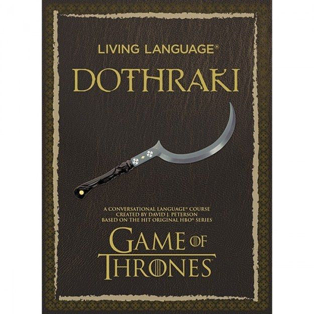 """Learn Dothraki 