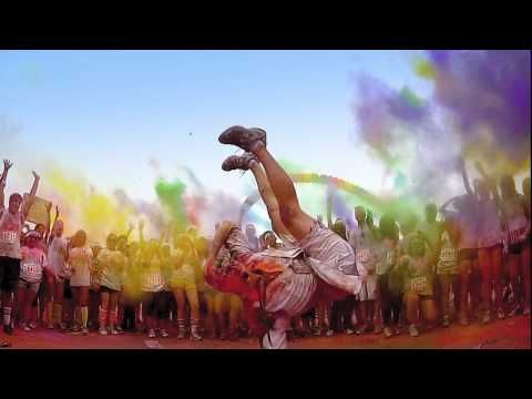 THE COLOR RUN - Be a Color Runner (sweet video)