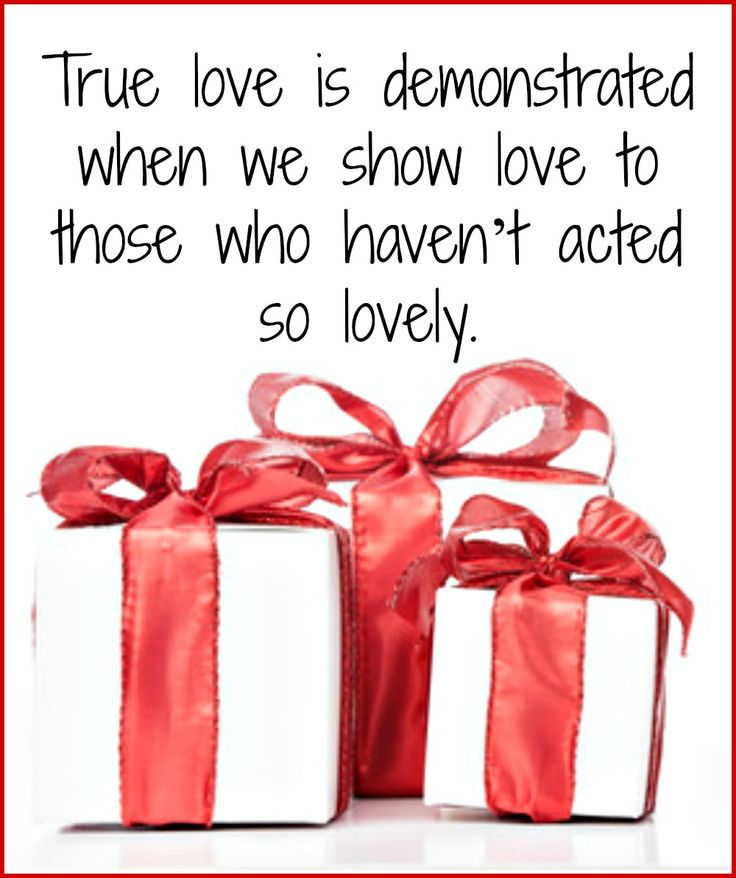If Christmas could be summed up in one word, I think it would be love. This Christmas give the gift of love!