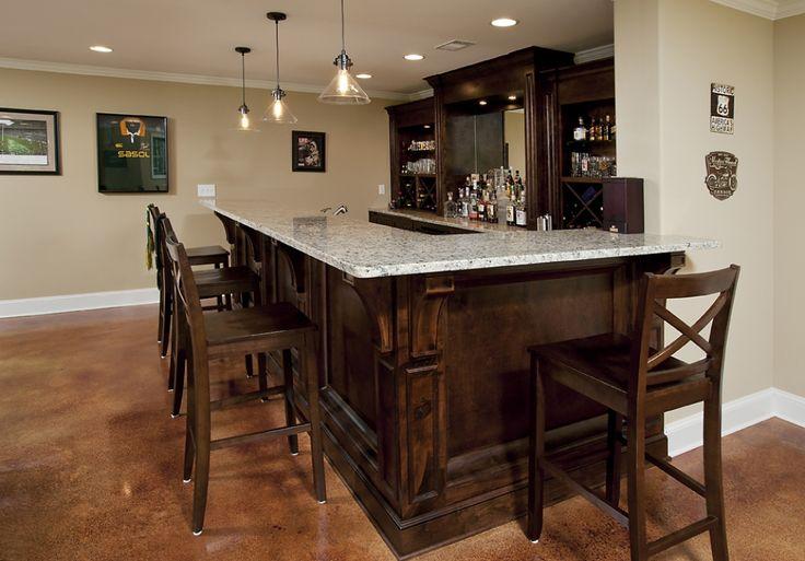 Best 25 small basement bars ideas on pinterest small bar areas small bars and small basement - Pinterest basement ideas ...