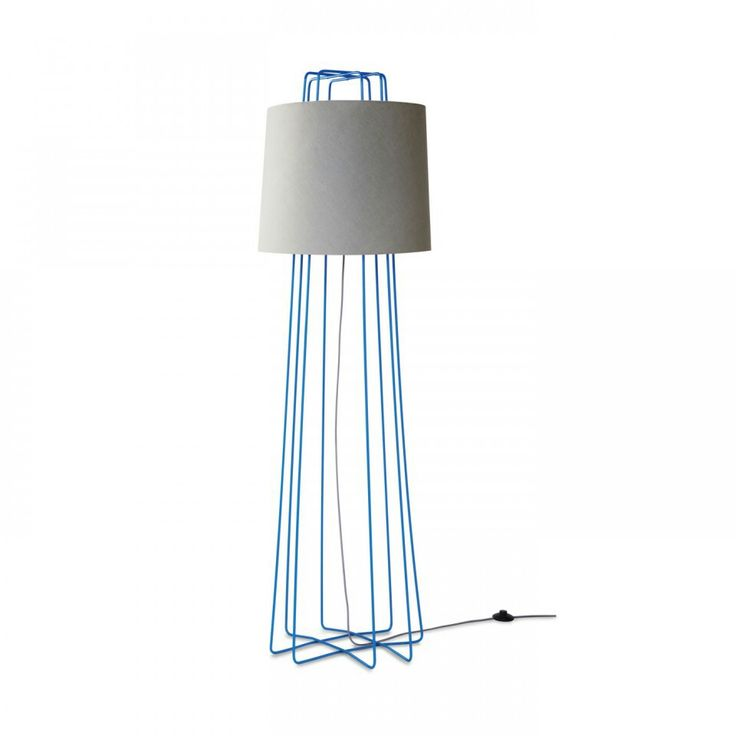 Funky Floor Lamp Comes In Three Fun Colors