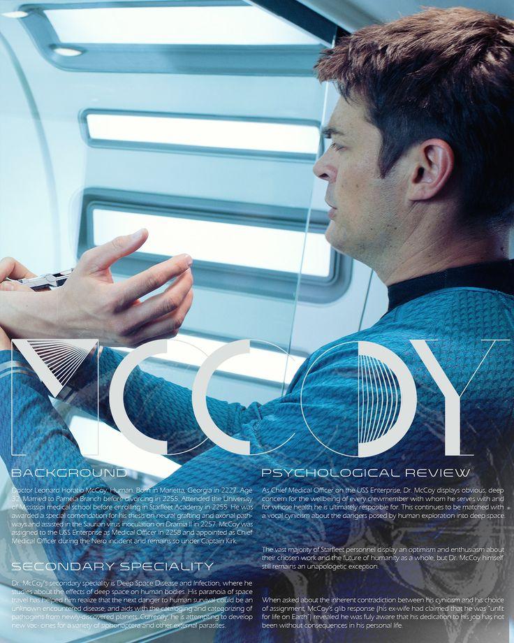 Star Trek character bio thingies: McCoy (Bones)