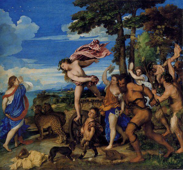 Titian, Bacchus & Ariadne