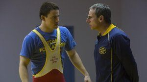 Foxcatcher (2014) Drama  Thriller The greatest Olympic Wrestling Champion brother team joins Team Foxcatcher lead by multimillionaire sponsor John E. du Pont as they train for the 1988 games in Seoul - a union that leads to unlikely c... more  Directing: Bennett Miller Writing: E. Max Frye Dan Futterman Stars: Steve Carell Channing Tatum Mark Ruffalo Reelsmash.com