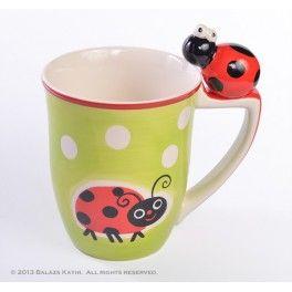 """ Molly"" mug- cute ladybird :-)"