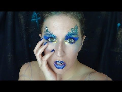 Hunger Games - Catching Fire District 4 (Makeup Tutorial)