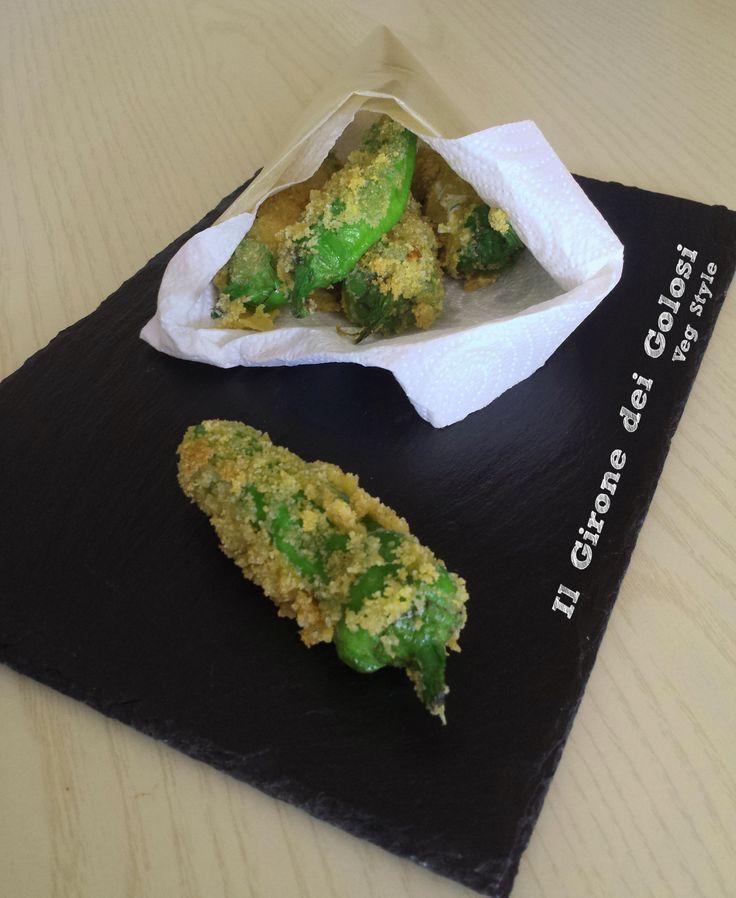 Una ricetta facile dei friggitelli ripieni e fritti, gustosa e ideale per un aperitivo o un antipasto