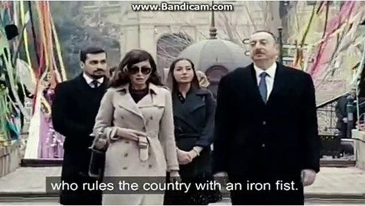 Corruption Government of Baku Ilham Aliyev dictatorship expanding scheme corruption programme round the whole Azerbaycan