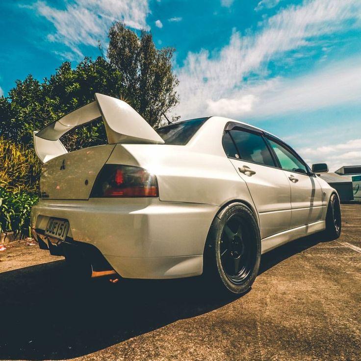 #Mitsubishi #Evo #Stance #Slammed #Modified
