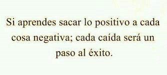 Ser positivo. Cita #10