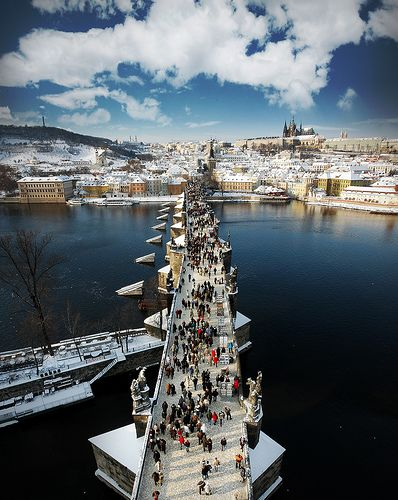 Charles Bridge, Prague Top 10 Design Hotels #hotelinteriordesigns