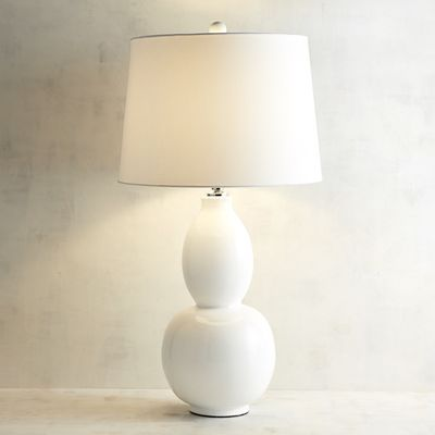 Primavera white table lamp pier 1 imports