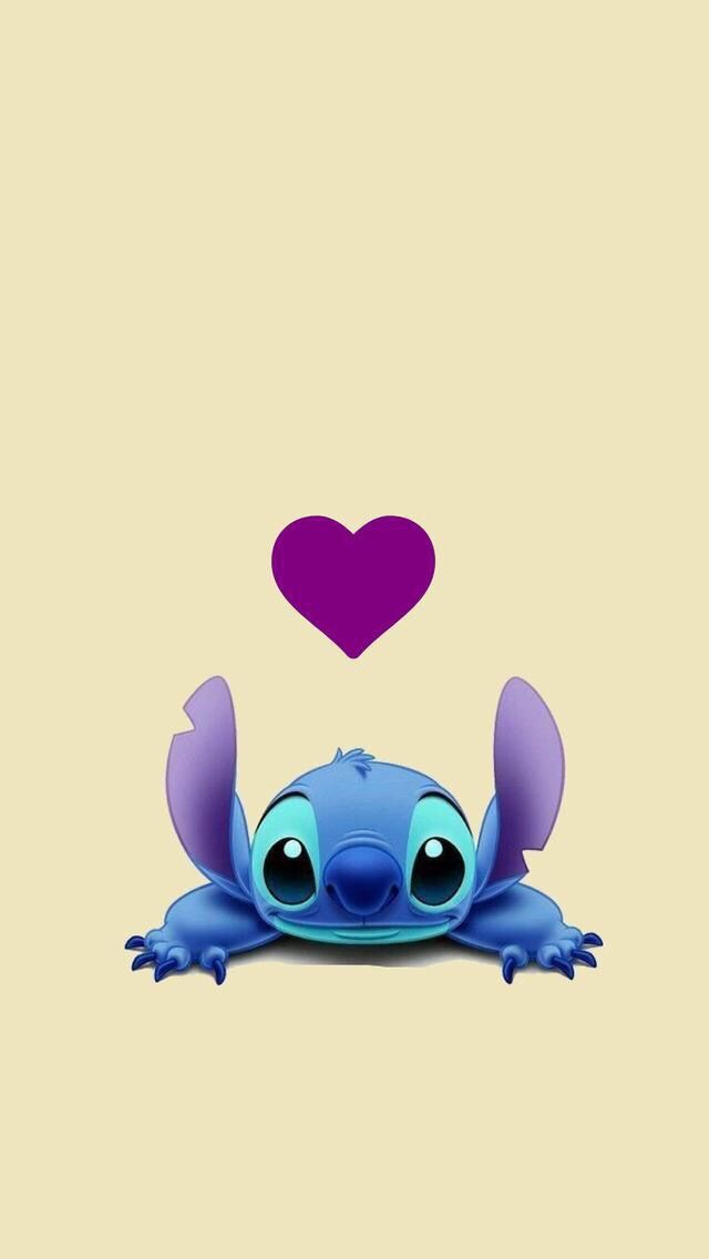 Stitch wallpaper background Disney wallpaper, Cute