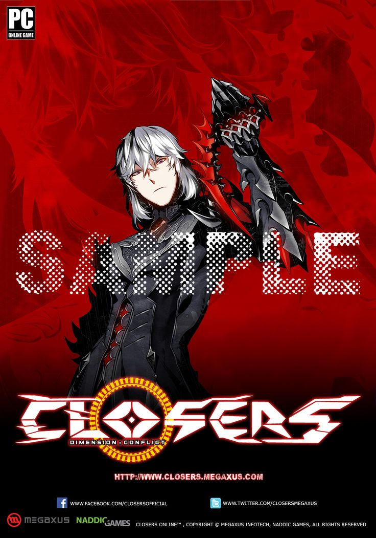 Character J Normal Sample Indonesia Server Poster Splended/Brilliant of Darkness Edition Size 35 x 50 cm NOT FOR SALE