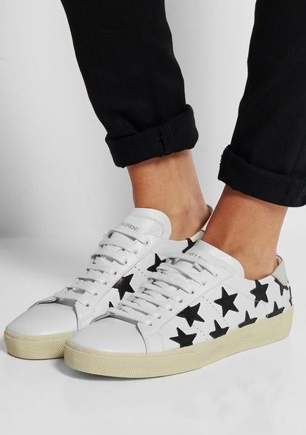 Saint Laurent sneakers.