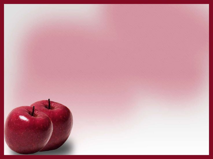 powerpoint slides | Red Apple Free PPT Backgrounds for your PowerPoint Templates