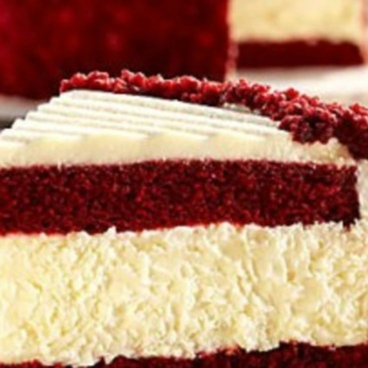 Red Velvet Cheesecake Recipe 7 | Just A Pinch Recipes
