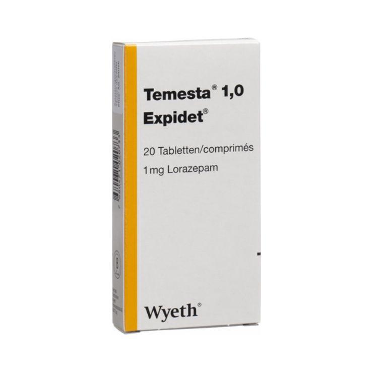 Temesta 1.0 Expidet Tabl 1 Mg 100 Stk jetzt bei uns bestellen! Temesta 1.0 Expidet Tabl 1 Mg 100 Stk in unserem Shop kaufen! Rezeptfrei können Sie Temesta 1.0 Expidet Tabl 1 Mg 100 Stk in unserem Onlineshop kaufen. Hinweis: Die Mindesthaltbarkeitsdauer von Temesta 1.0 Expidet Tabl 1 Mg 100 Stk beträgt nach Erhalt der …