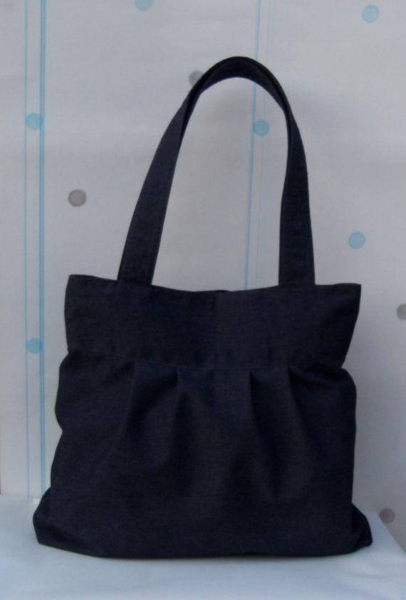 SALE  Dark Gray Handbag /  Everyday bag / by PinakInternational