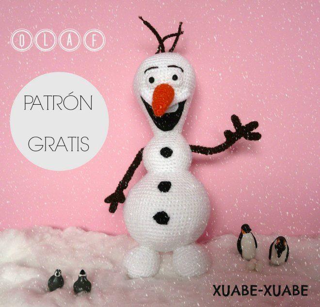 Xuabe-Xuabe: Patrón Olaf (Frozen)