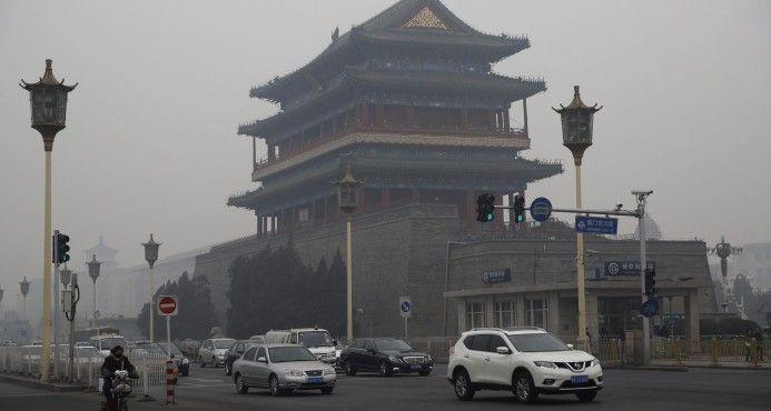 Pekín Inicia Su Segunda Alerta Roja Por Contaminación Sin Llegar A Máximos