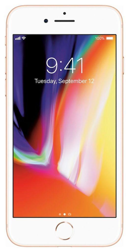 Apple iPhone 8 256GB Unlocked GSM/CDMA Phone w/ 12MP Camera - Gold