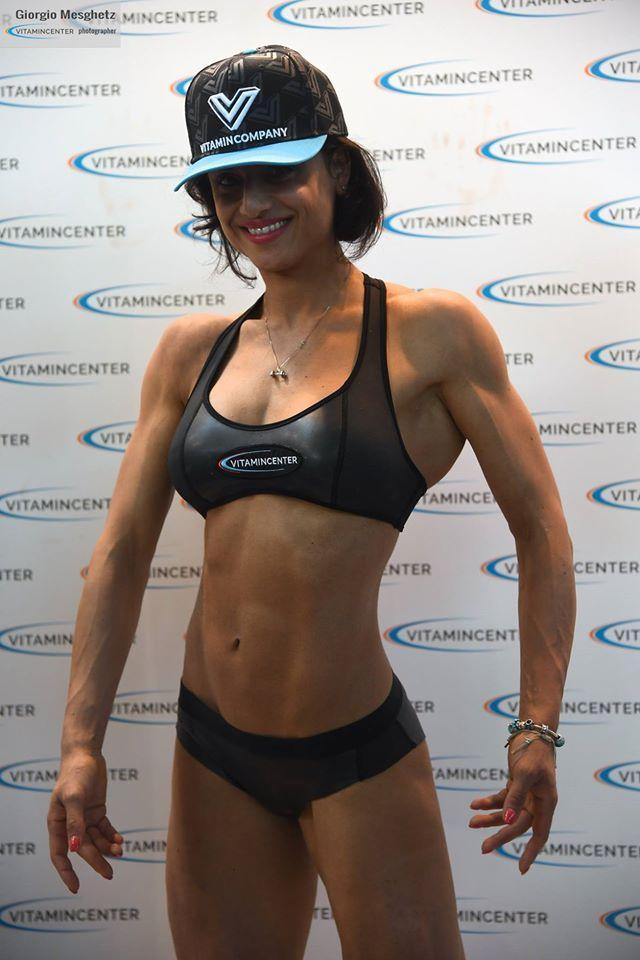 Angela Eramo #teamVitaminCenter #RW16 #riminiwellness #fitness #bodybuilding #italia