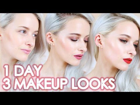 3 Make Up looks in 1 day! I teamed up with the amazing Garnier Oil Infused Micellar water to show you these amazing looks!