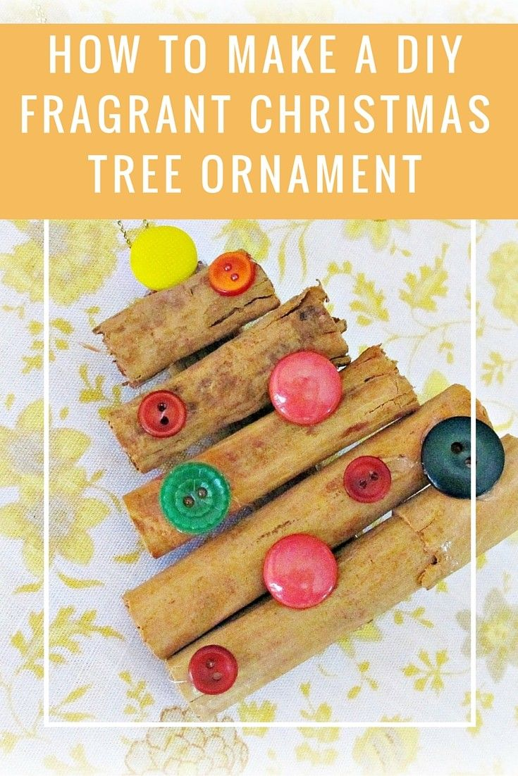 How To Make a DIY Fragrant Christmas Tree Ornament http://recycledinteriors.org/mood-boards/how-to-make-a-diy-fragrant-christmas-tree-ornament/ There is still time to make some lovely things for Christmas! This is an oldie but a goodie