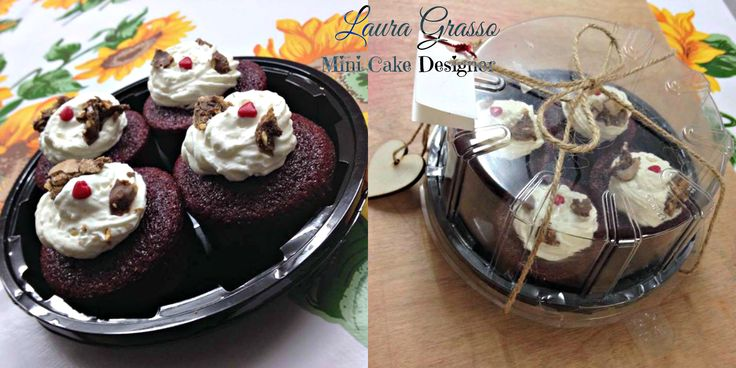 Ferrero Rocher red velvet cupcakes
