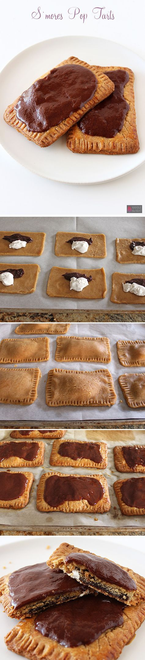 Homemade S'mores Pop Tarts - Amazing! SO much better than store-bought!