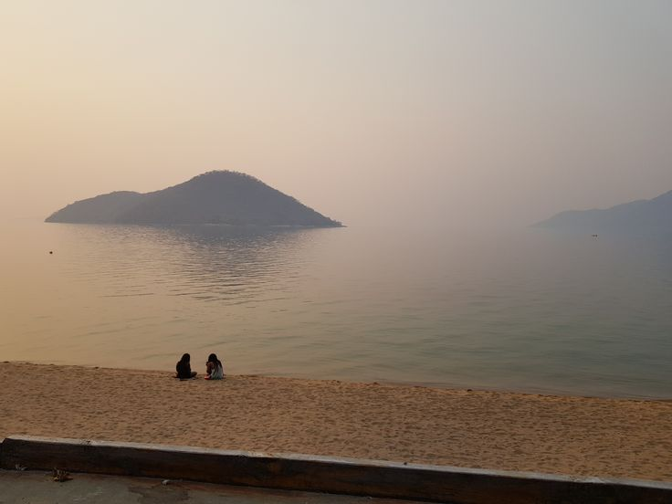Lake Malawi view from the Funky Cichlid