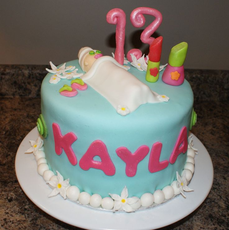Nail Cakes Bakery: 421 Best Images About Spa Party Food Ideas On Pinterest
