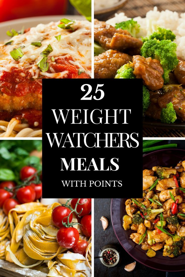 If you're looking for easy weight watchers meals for dinner with points, then look no further! This collection of 25 weight watchers meals for dinner is just what you need to jumpstart your diet! Whether you prefer one-pan or crockpot, chicken or beef, this list has you covered! All of these weight watchers recipes are fabulous, but my favorite is # 4! Click here to see it now! #weightwatchersrecipes
