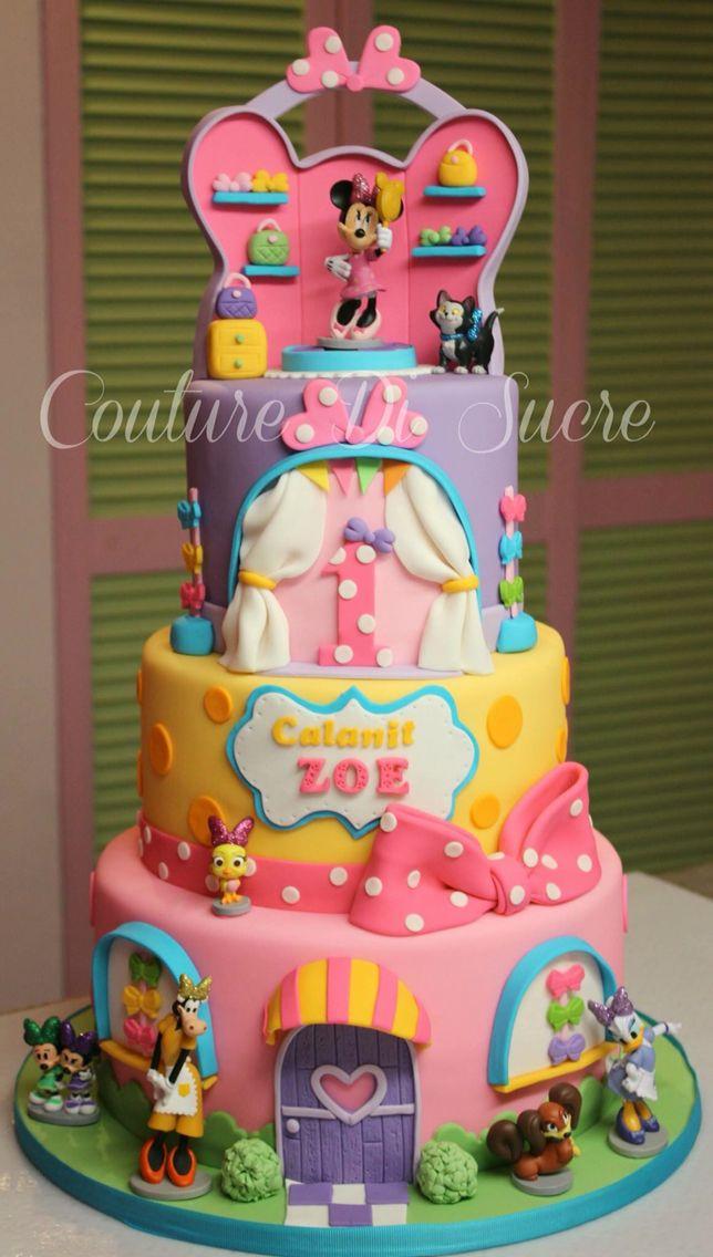 Minnie Bowtique Cakes