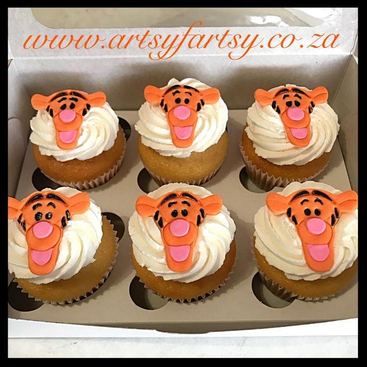 Tigger Cupcakes #tiggercupcakes