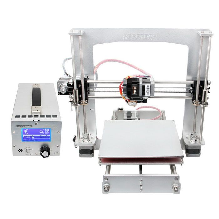 Geeetech Prusa I3 A Pro 3D Printer DIY Kit- White (AU Plug)