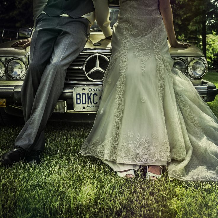 Photograph BMW Bride and Groom by Amber Harloff on 500px