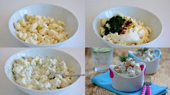 Cevizli karnibahar salatasi