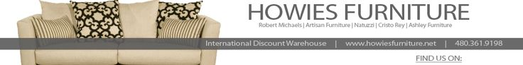Howies Furniture Carries Ashley, Robert Michaels, Klausner 60000' Store
