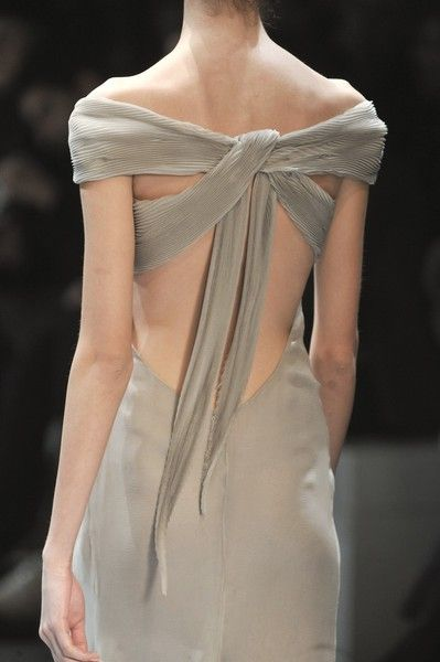 twist-gray-formal-dress - Once Wed