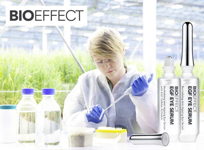 UUTUUS! Tieteellistä ihonhoitoa edustavat islantilaiset Bioeffect-ihonhoitotuotteet uudistavat ja stimuloivat ihon toimintoja korjaten tehokkaasti ihossa näkyviä ikääntymisen merkkejä. Myös herkälle iholle.