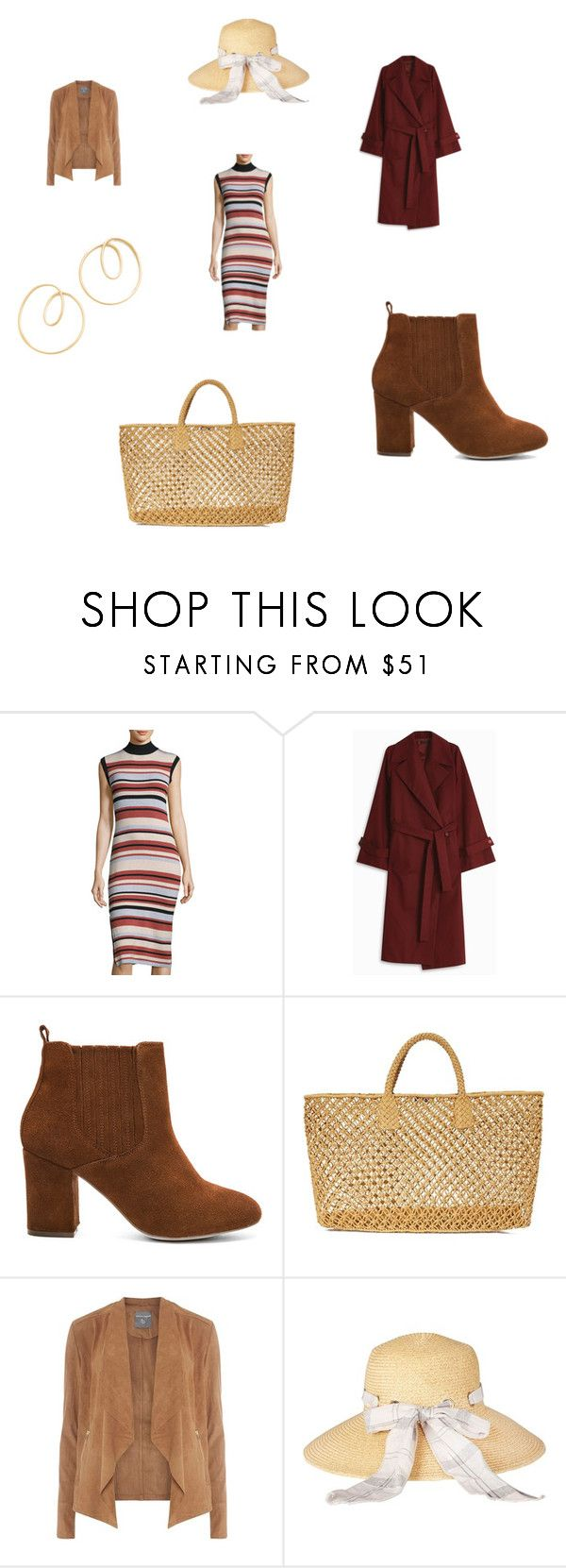 """""""outfit"""" by jamuna-kaalla ❤ liked on Polyvore featuring MINKPINK, The Row, Steve Madden, Hat Attack, Dorothy Perkins, Barbour and Amber Sceats"""
