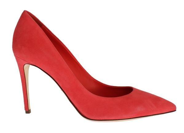 Pink Suede Classic Stilettos Pumps Shoes Dolce & Gabbana  SIG17641  €258.00 /// Was €620