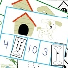 Math Center Number Identification Number Activity Printable Card Game Math Game Teachers Resources Kindergarten Activity
