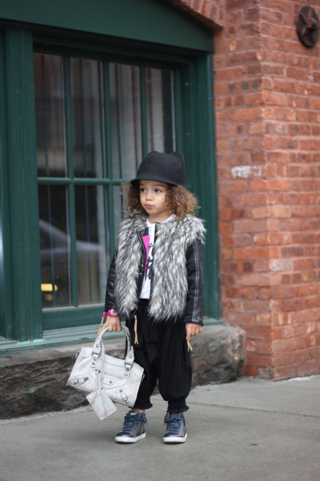 Children's street style featuring the first mini fashion blogger signed by Nylon Media! Stop by the blog www.scoutthecity.com