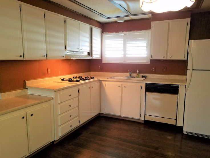 Kitchen 1976 fleetwood mobile manufactured home in