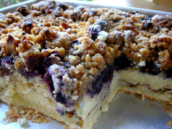 Blueberry Coffee Cake – 1K Recipes!