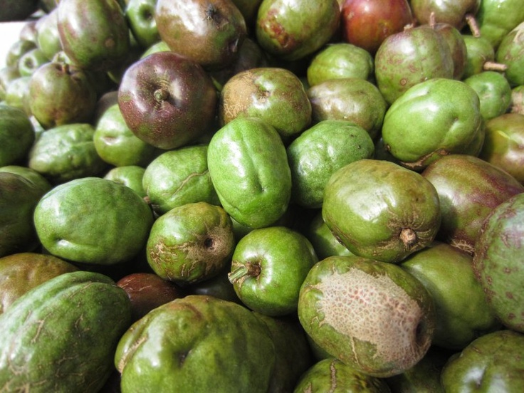 Ciruelas, a popular fruit in honduras! The hubby didn't like them, but Chase and I love them haha